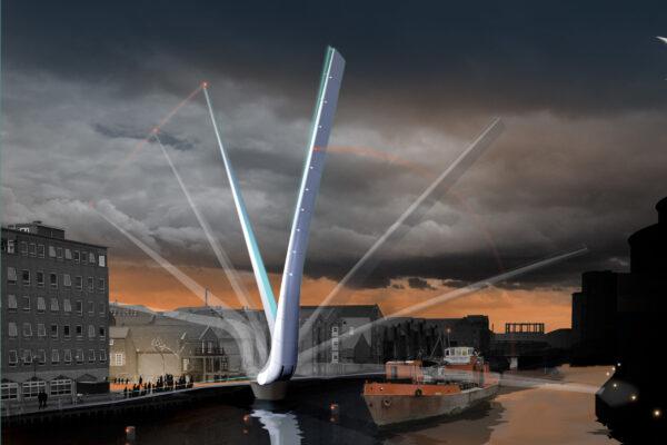 Design Engine Hull Bridge visualisation with movement