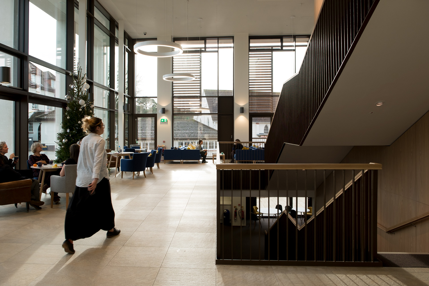 Interior reception space Downe House