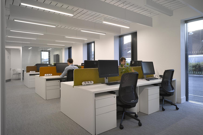 Design Engine AUB Student Services Interior Computers