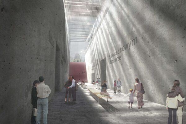 Design Engine Gdansk Museum Visualisation