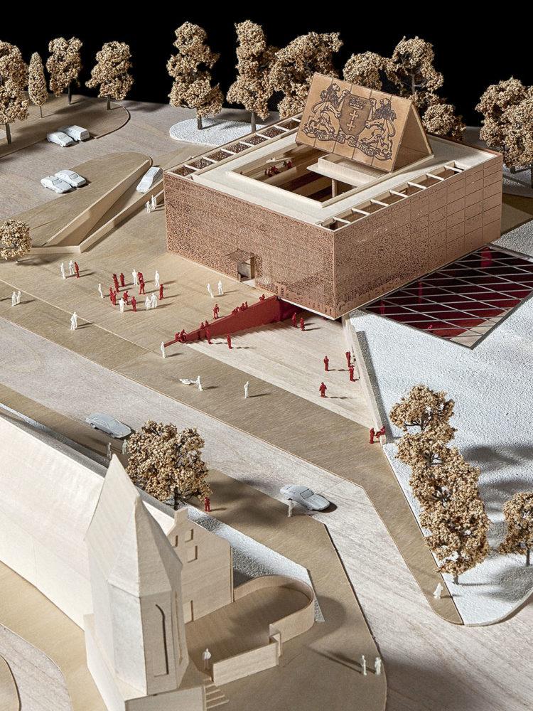 Design Engine Gdansk Theatre Model