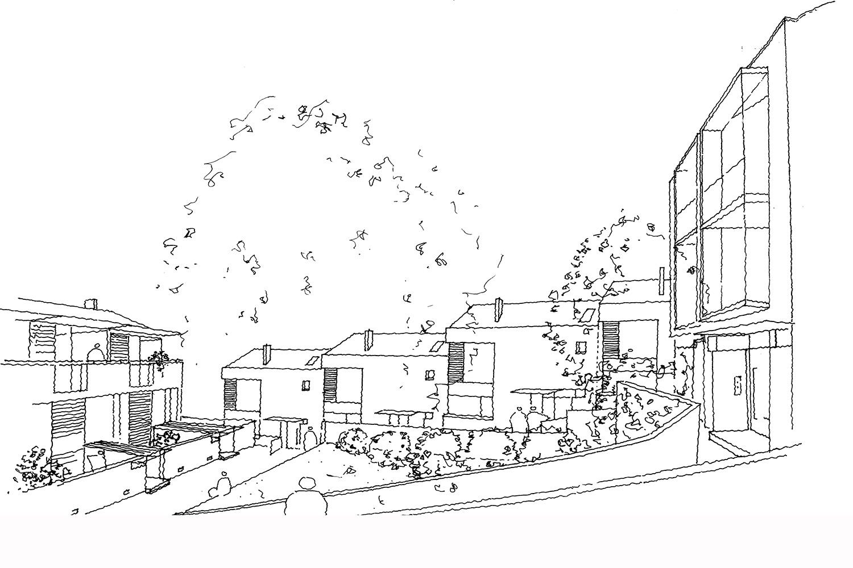 Design Engine Roseville Housing Sketch