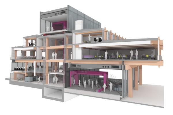 Design Engine URS Building Reading University