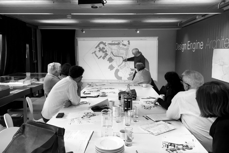 Design Engine client meeting