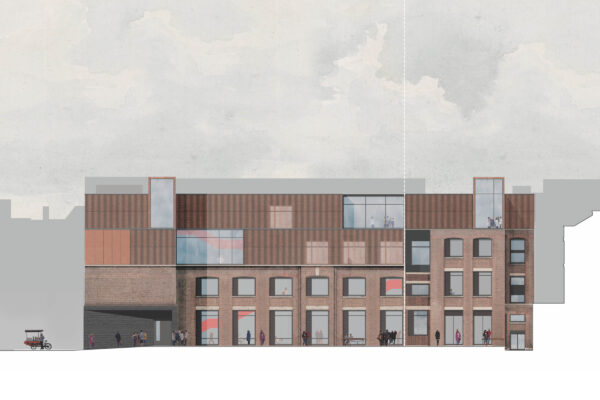 London Metropolitan University Existing South Elevation