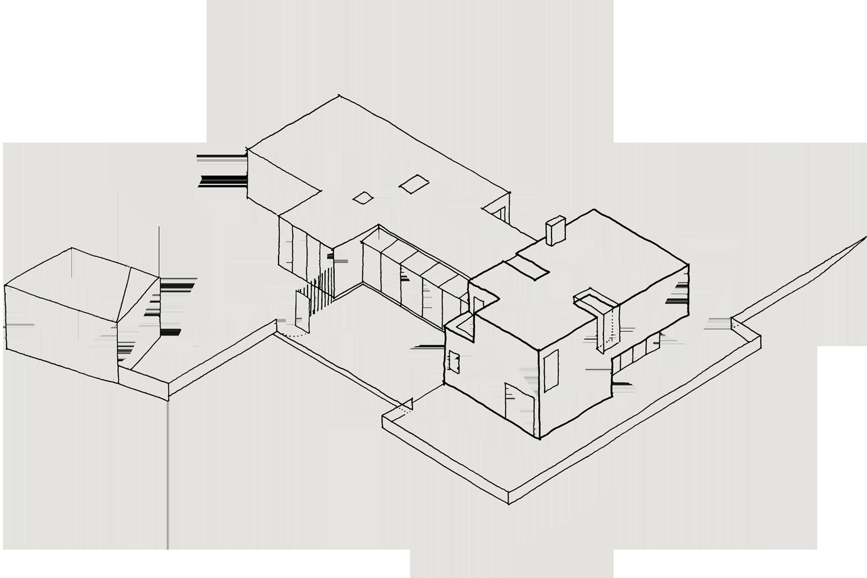 Design Engine housing sketch