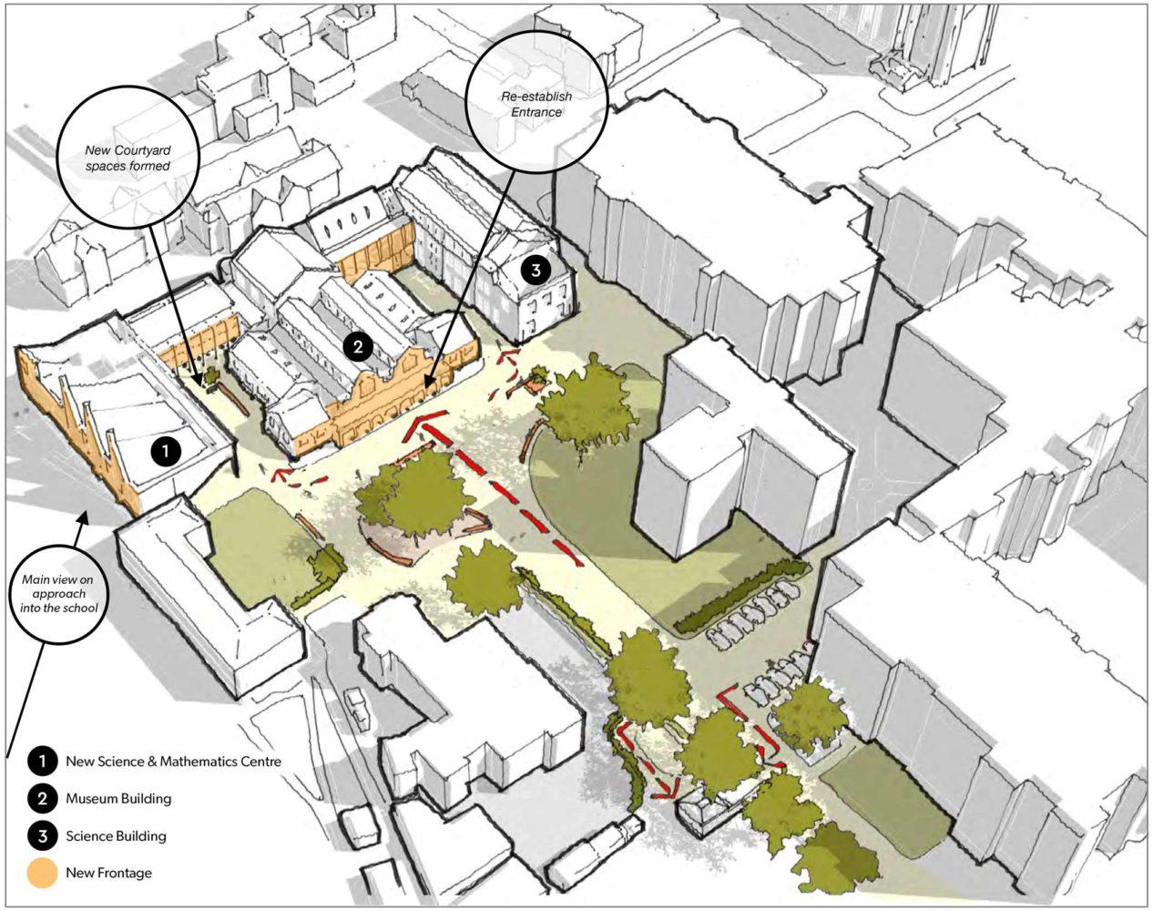 Charterhouse Site Diagram